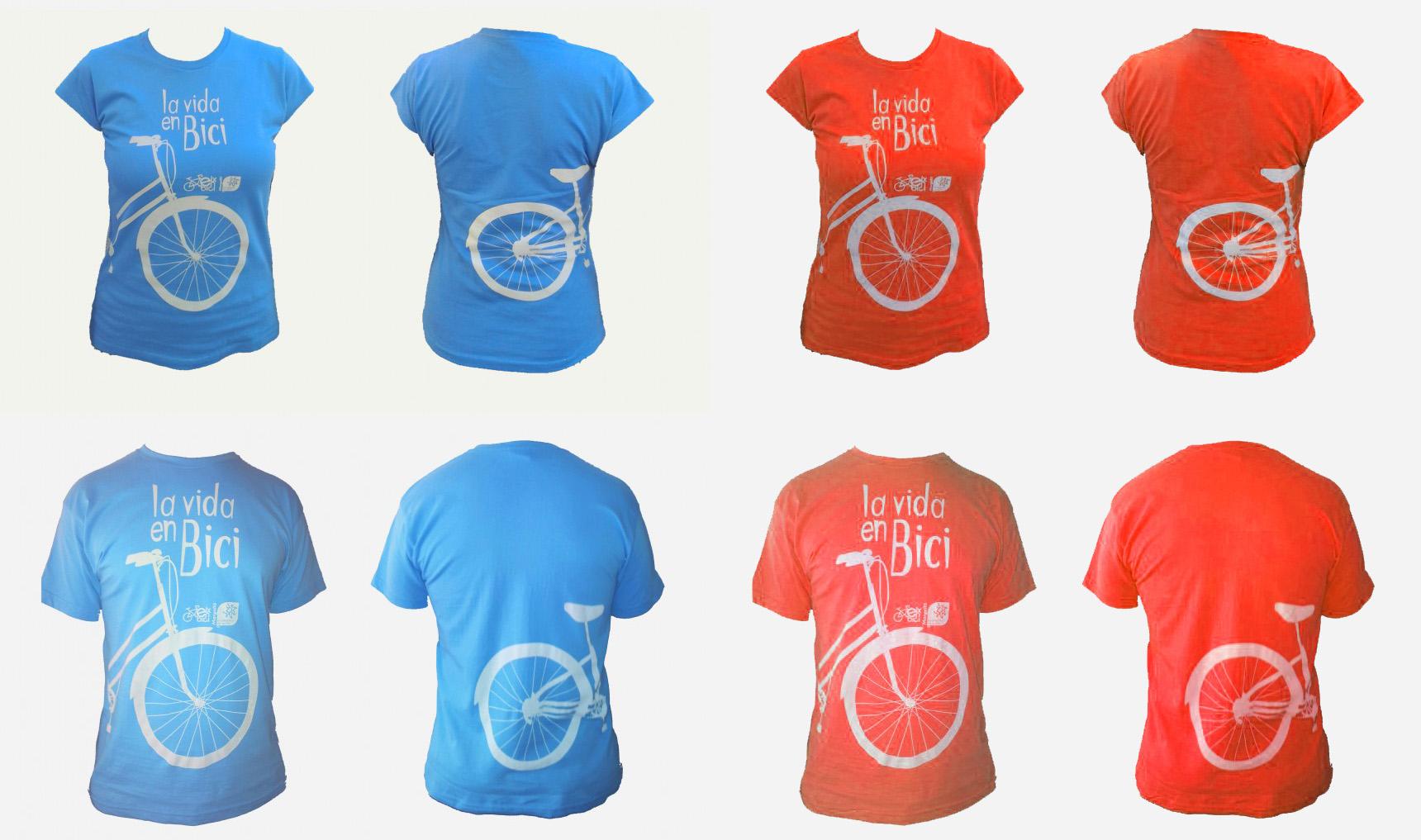 Camisetas Elx en Bici