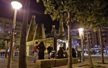 Plaza de L'aljebs-Chimeneas